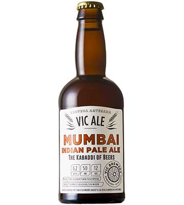 Vic Ale Mumbai Indian Pale Ale 33CL