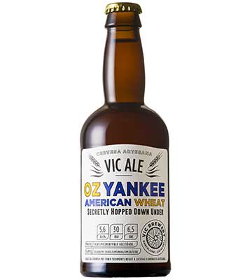 Vic Ale Oz Yankee American Wheat 33CL