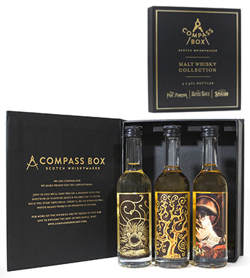 Coffret Malt Whisky Collection - 3 bouteilles 5 cl