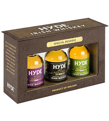 Coffret Special Reserve Hyde - Irish Whiskey