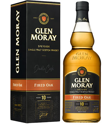 Whisky Glen Moray 10 ans - Fired Oak