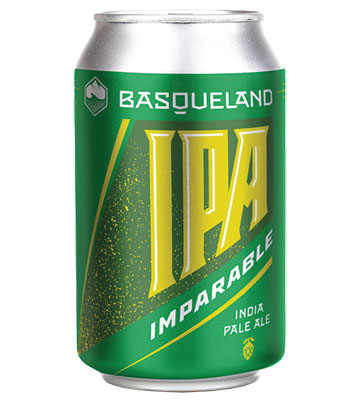 Basqueland Imparable IPA Blonde 33CL